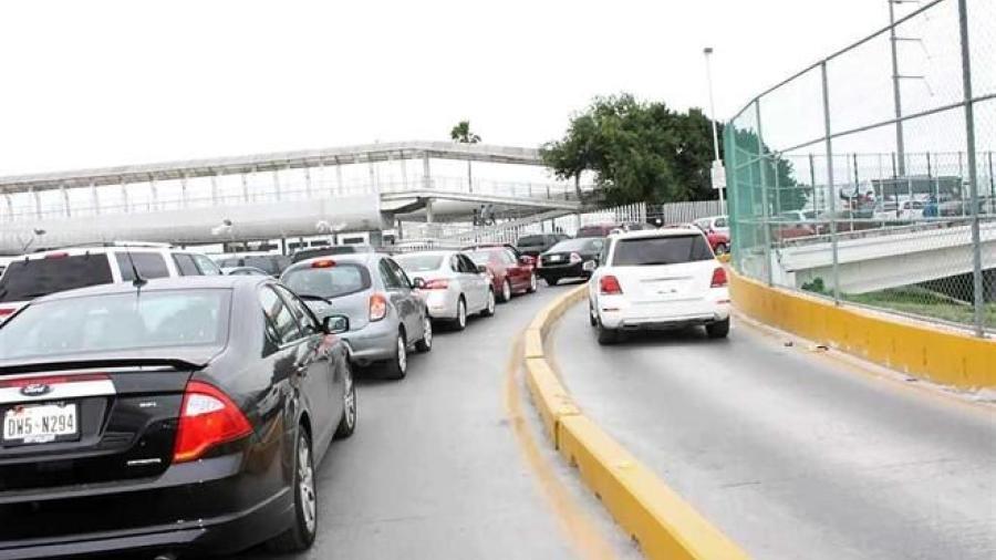 Hasta 2 horas el tiempo de espera en puentes internacionales