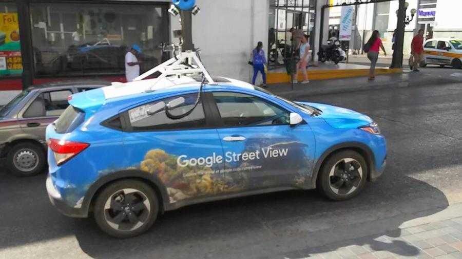 Vehículo de Google recorre Tampico