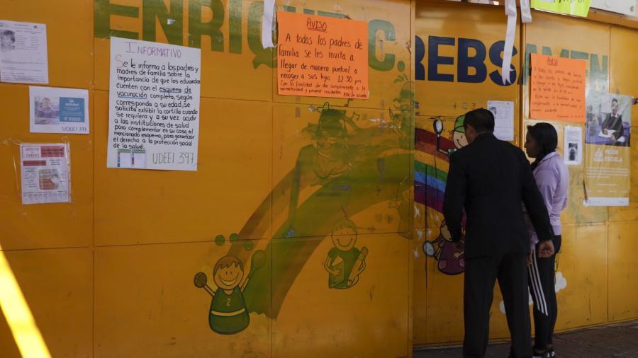 """SEP investiga escuela de Fátima, director se retira de funciones """"unos días"""""""