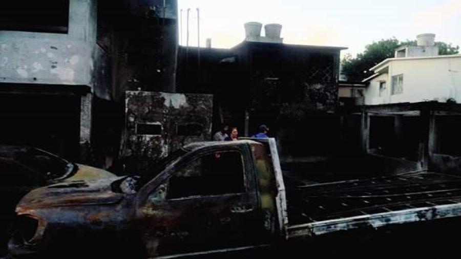 Alcalde brindará apoyo a civiles afectados por incendio