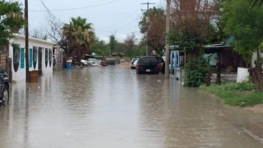 Lluvia impide venta comercial en Río Bravo