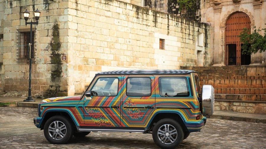Transforman vehículo de lujo en muestra de la cultura de Oaxaca