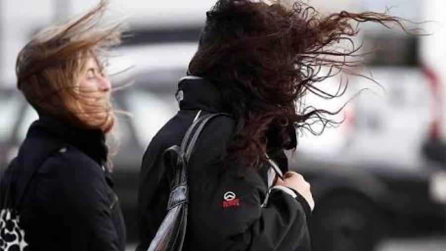 Nuevo frente frío ocasionará vientos fuertes