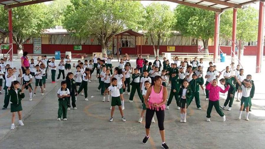 """Realizan actividades en primarias por """"Semana Nacional de Cultura Física y Deporte"""""""