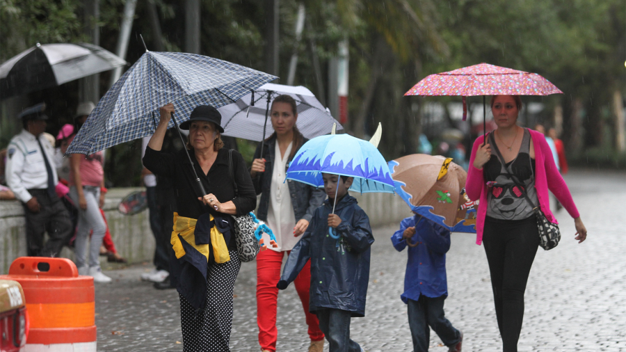 Prevén lluvias en varios estados del país