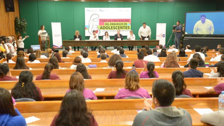 Fortalece Tamaulipas estrategia de prevención de embarazos en adolescentes