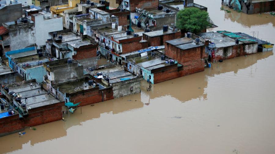 Fuertes lluvias en norte de India dejan mas de 40 muertos