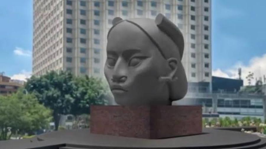 Comité decidirá si va o no la estatua de Tlali en lugar de Colón