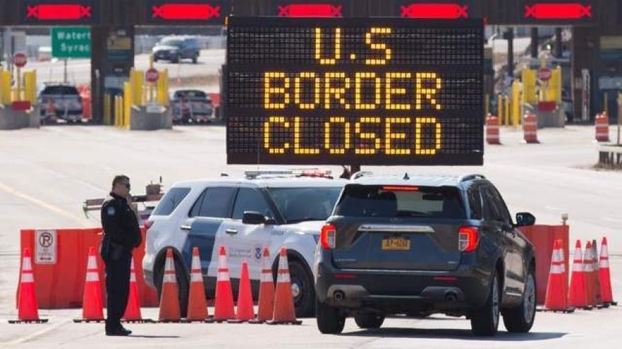 Extienden un mes más el cierre parcial de frontera entre México y EU