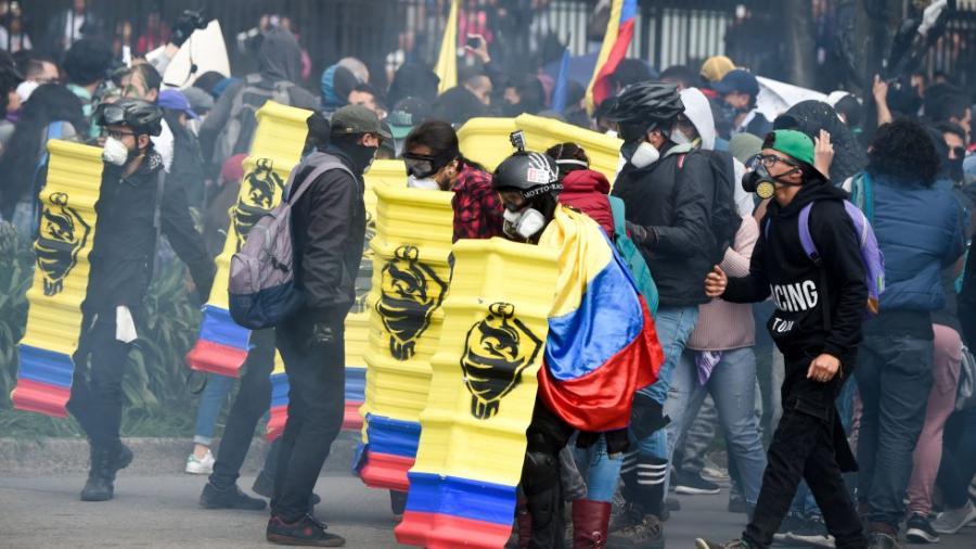 ¡Día histórico en Colombia! Se reportan ola de protestas en contra de Iván Duque