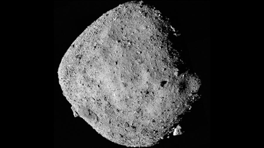NASA descubre agua en asteroide