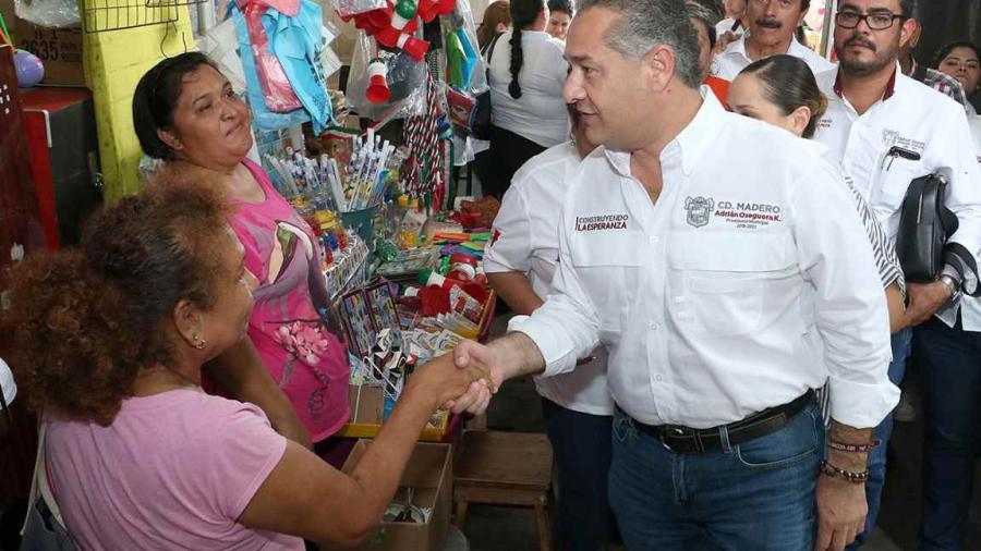 Impulsa Adrián Oseguera la economía local