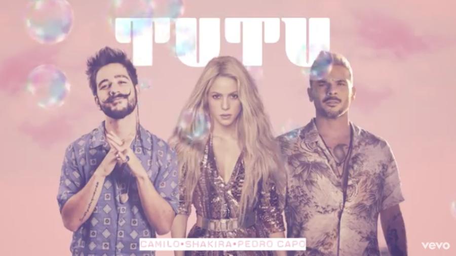 Así suena el 'Tutu' de Camilo, Pedro Capó y Shakira