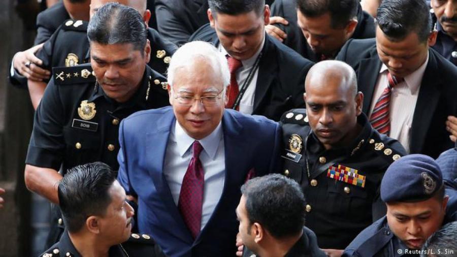 Ex primer ministro de Malasia se declara inocente de malversación