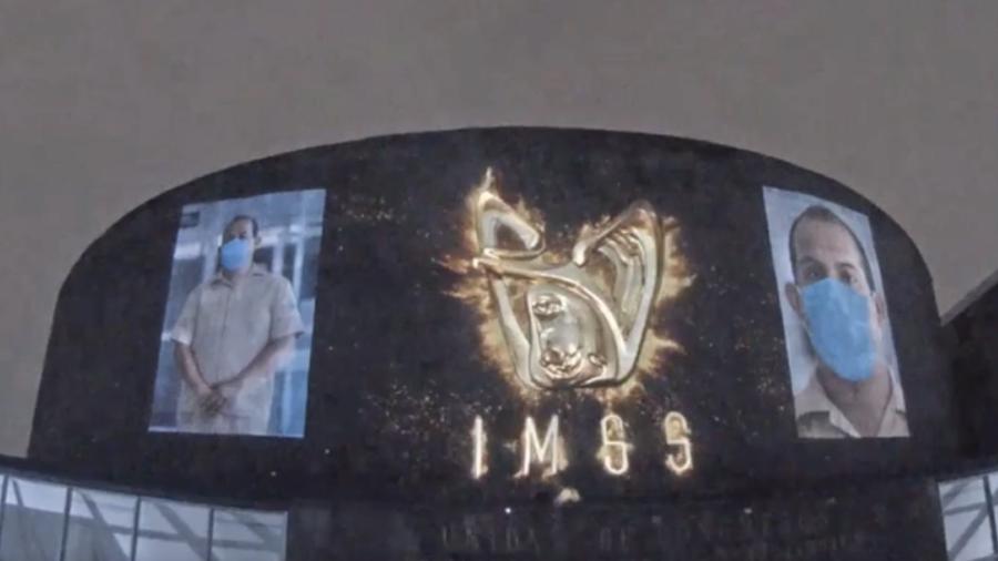 """IMSS presenta el """"Mural a los héroes de la salud"""""""