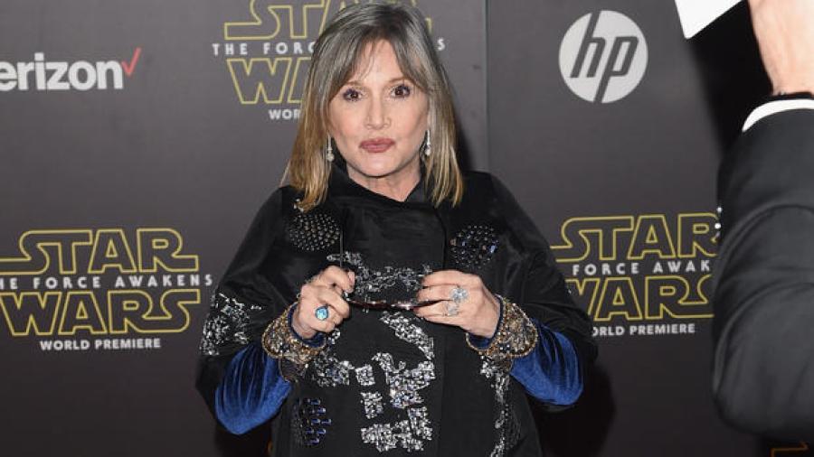 Recibiría Disney indemnización por muerte de Carrie Fisher