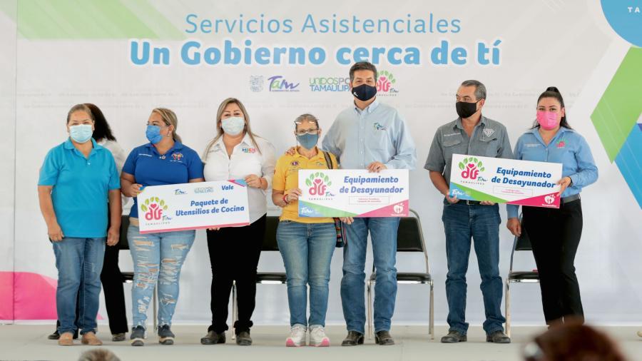 """Gobierno del Estado reactiva las jornadas """"Un Gobierno Cerca de Ti"""" en apoyo a las familias más necesitadas"""