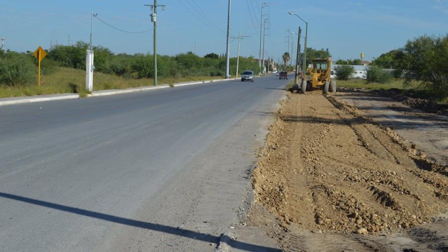 Gran avance registra la modernización del Libramiento Lazaro Cárdenas