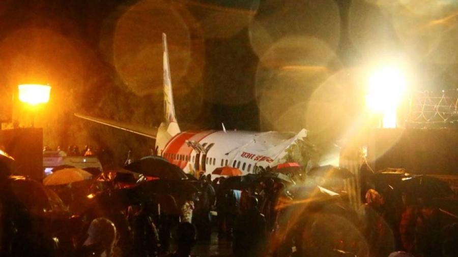 Al menos 17 muertos en India por accidente de avión