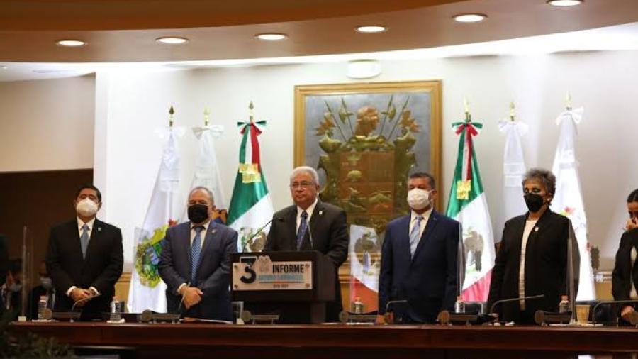 Destaca Sanmiguel avances de Nuevo Laredo en Tercer Informe de Gobierno