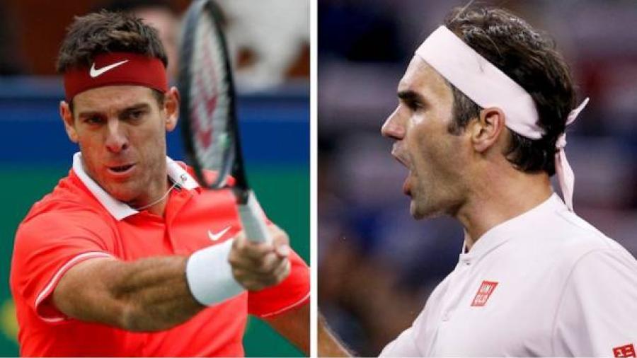 Federer y Del Potro avanzan a 8vos en Shangai