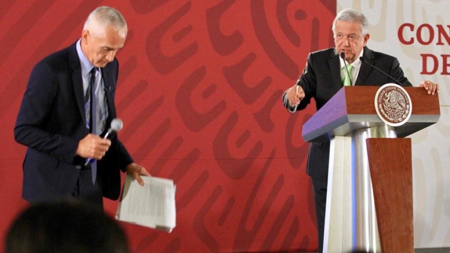 Jorge Ramos cuestiona a AMLO por cifras de homicidios