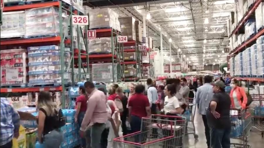 Comienzan las compras de pánico tras casos de Covid-19 en México