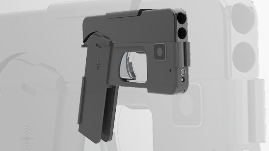 """Llega la nueva pistola """"tipo iPhone"""""""