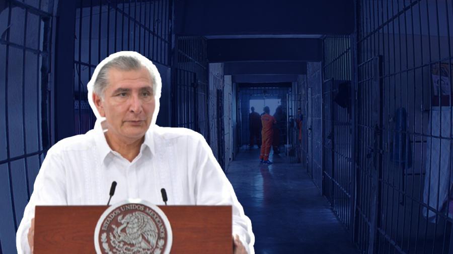 681 presos serán liberados el proximo 15 de septiembre: Adán Augusto