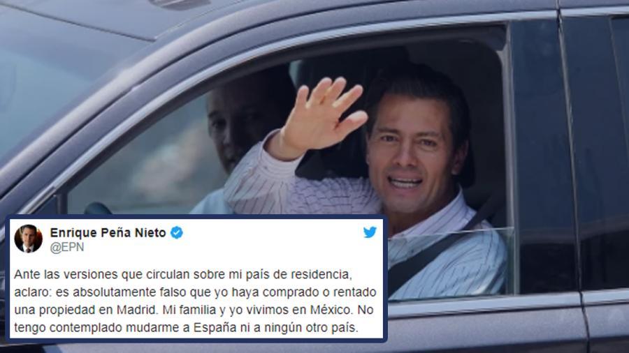 Falso que haya comprado o rentado propiedad en Madrid: EPN