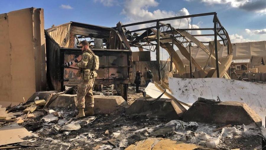 EU revela que 11 de sus soldados resultaron heridos en el ataque de Irán