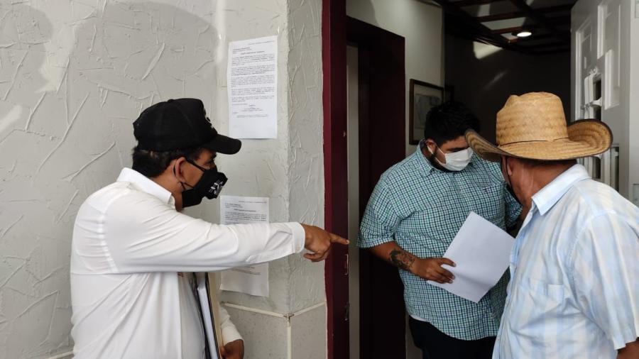 Campesinos afiliados a Morena denuncian falta de gestión de Américo Villarreal
