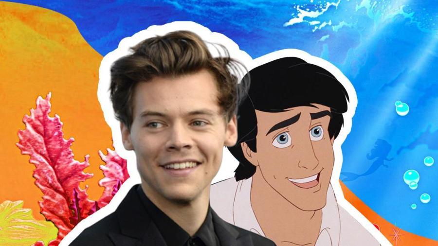 Harry Styles interpretará al Prince Eric en el live-action de la Sirenita