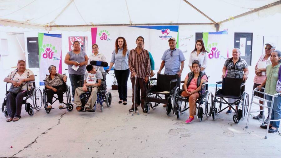 DIF Tamaulipas y Madero fomentan inclusión social de personas con discapacidad