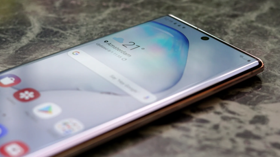 Samsung explica cómo evitar problema del sensor de huellas en Galaxy S10 y Note10
