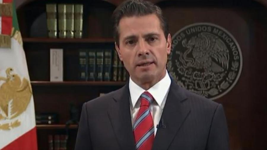 México no permitirá el ingreso irregular y violento al país: EPN