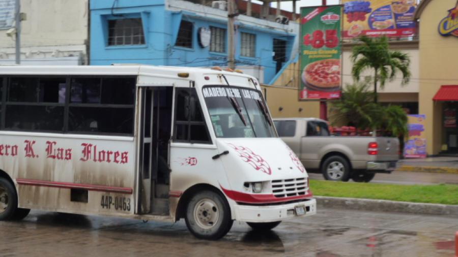 Piden familias a transporte público no exagerar costo del pasaje