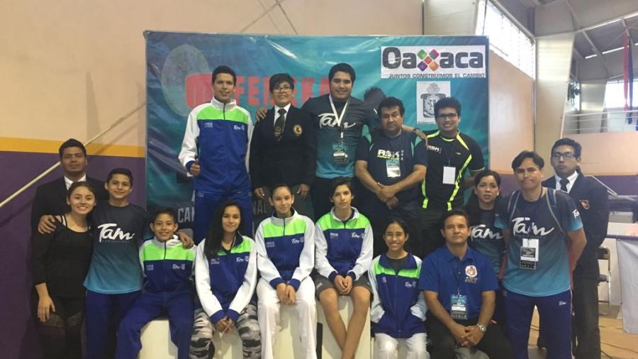 Karatecas tamaulipecos logran su pase al Panamericano