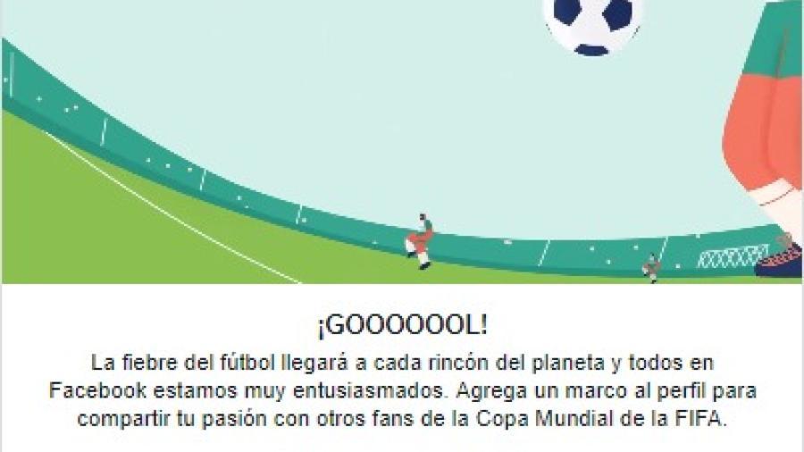 Llega la fiebre futbolera a Facebook