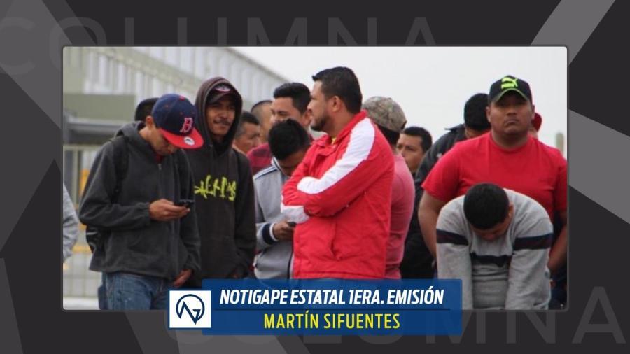 """El día después del 20/32: la """"lista negra"""" en Matamoros."""