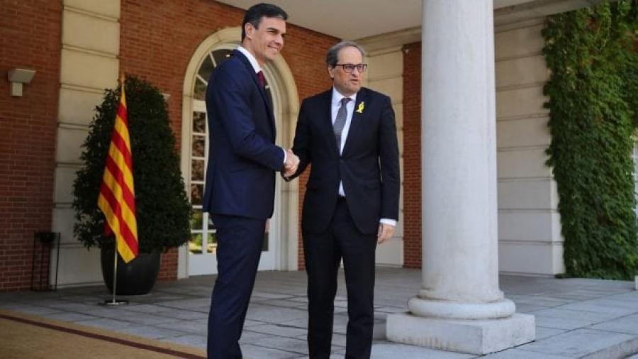 Presidente de España y líder catalán liman asperezas