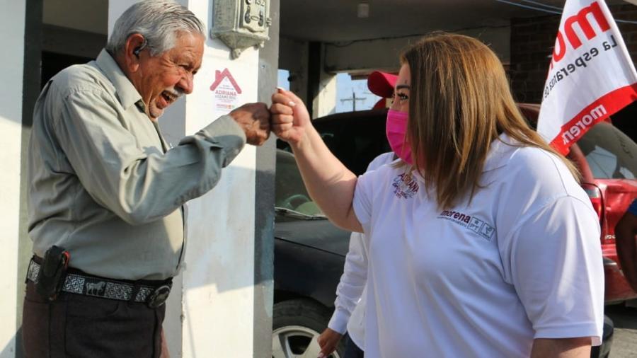 MORENA es del pueblo y para el pueblo: Adriana Lozano