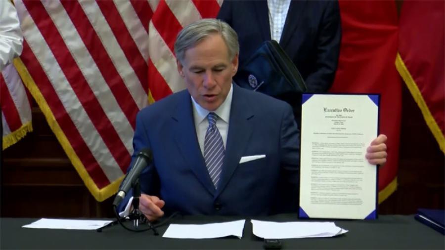 Anuncia gobernador de Texas nuevas restricciones de viaje por covid-19