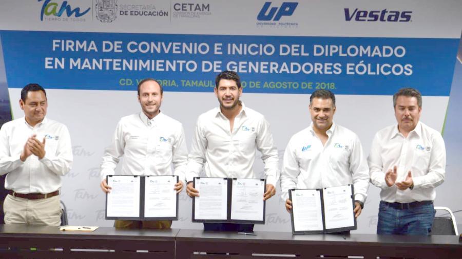 Firman Convenio SET-UPV-CETAM