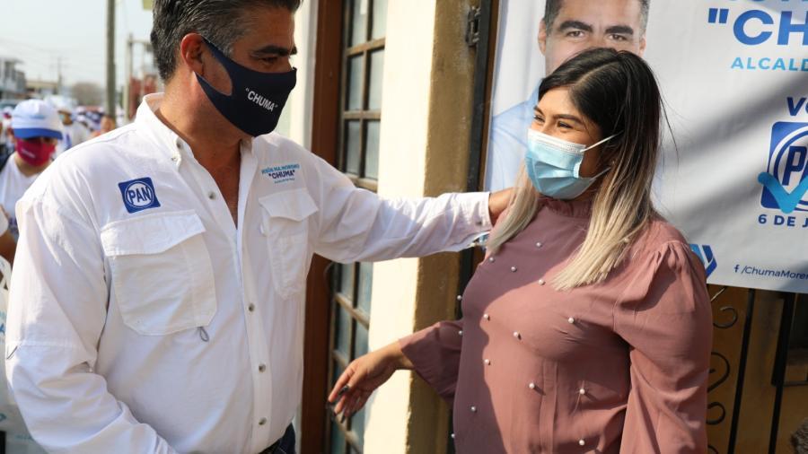 Tiene Chuma visión para el desarrollo de Reynosa