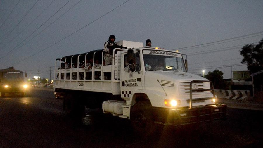 Llegan 200 elementos de la Guardia Nacional a Baja California