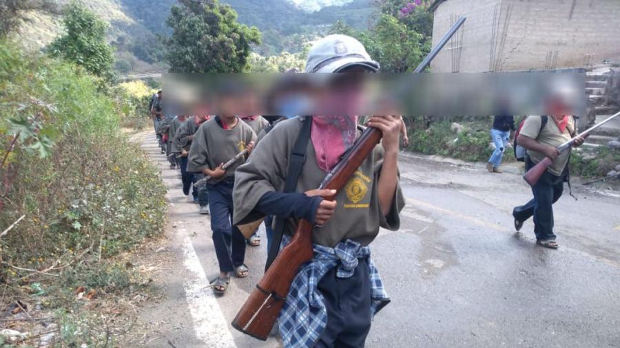 Reclutan niños para defender pueblos indígenas