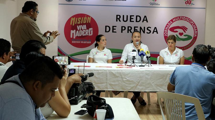 Invita DIF Madero a Jornada Multidisciplinaria y Día Municipal de Servicio Voluntario