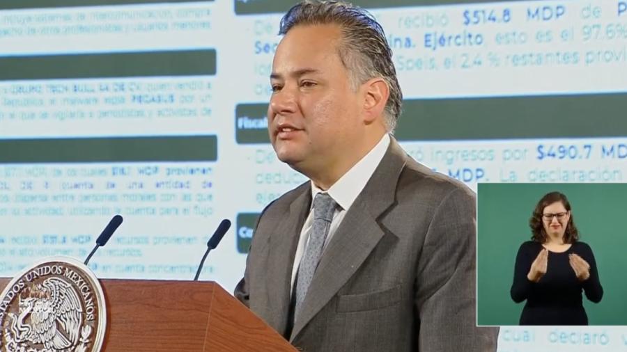UIF entregará a FGR información del caso Pegasus: Santiago Nieto