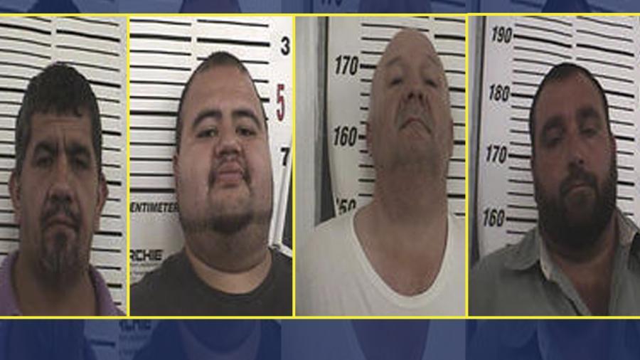 Detienen a 4 hombres acusados de fraude electoral